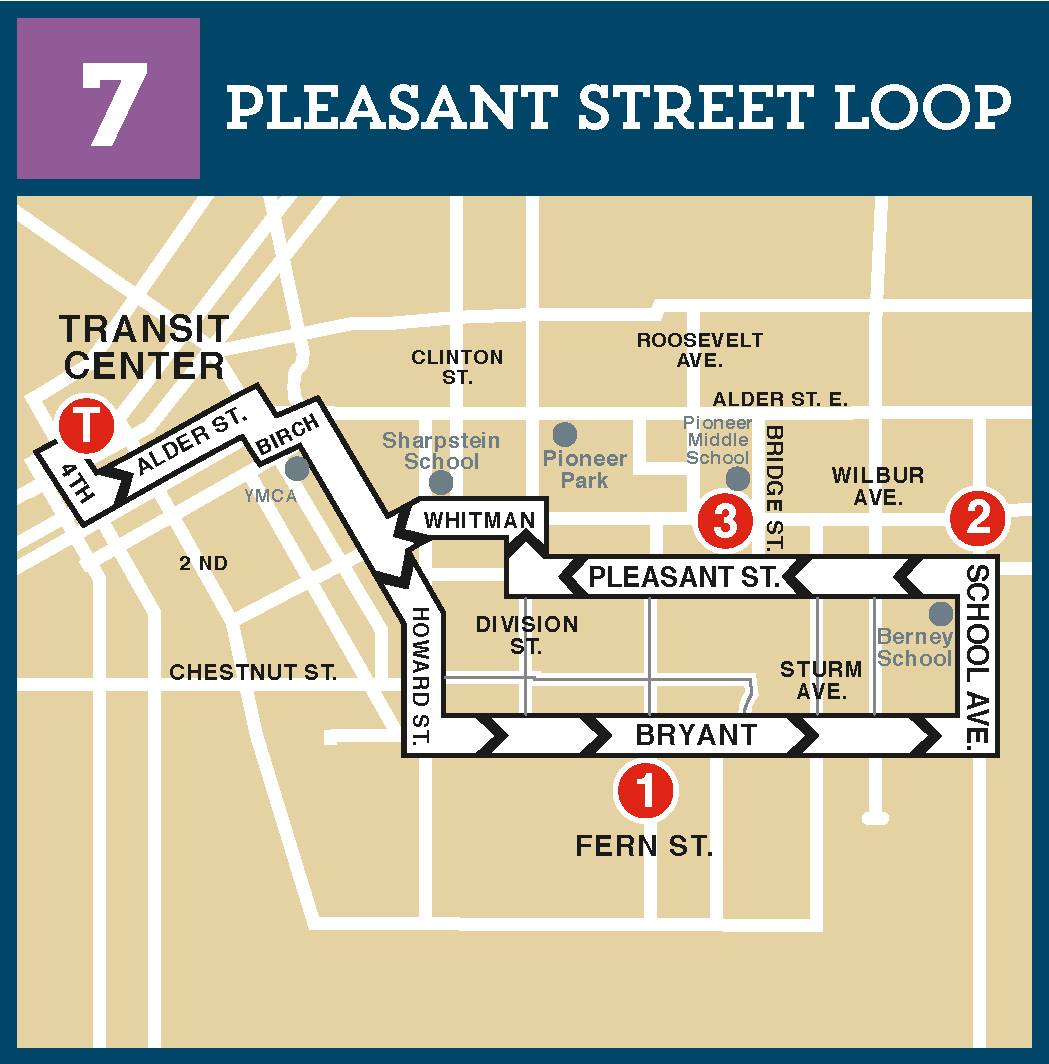 Route 7 Pleasant Street Loop